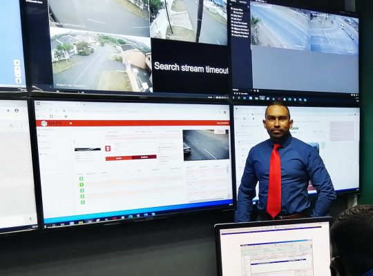 Community Control Room helps to recover suspicious vehicle