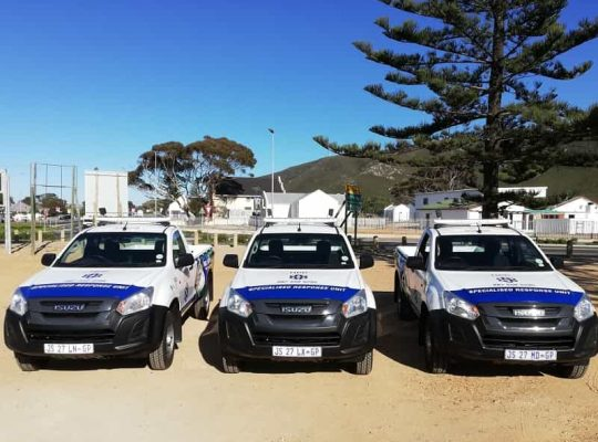 Hermanus officers kept busy during festive period