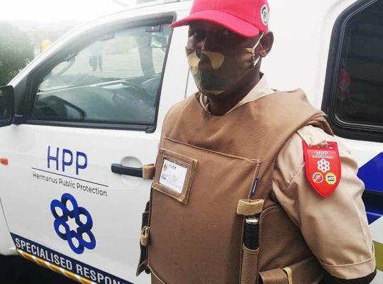 Hermanus security teams makes four arrests