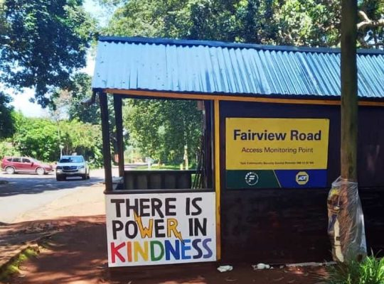 Kloof security hut gets a makeover