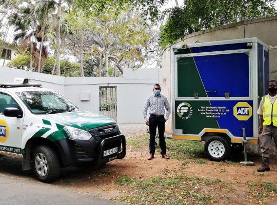 Mobile Trailer deployed in Umdloti